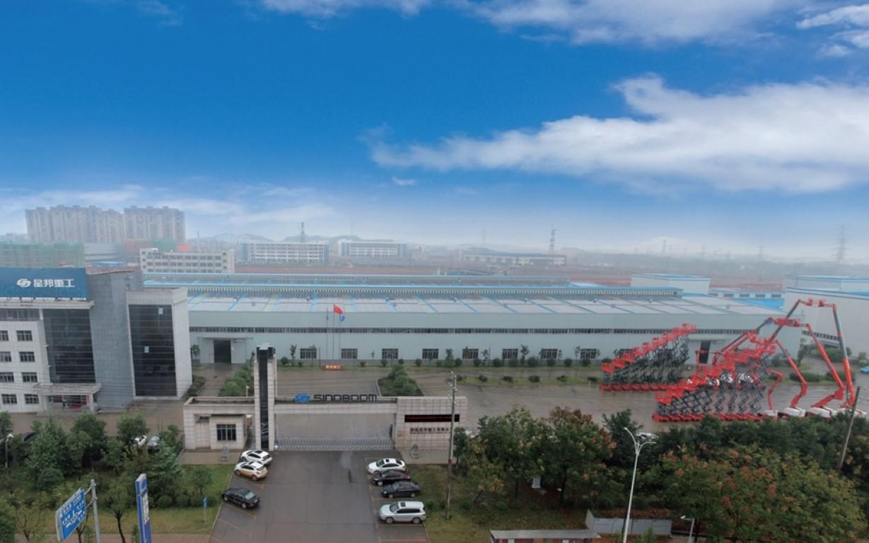 Sinboom - Hebebühnen Firma Zentrale in China